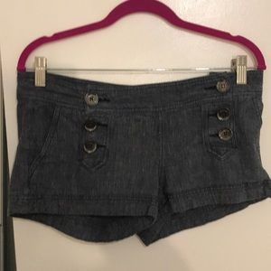 Express Shorty Shorts